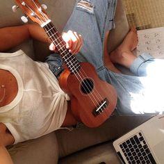 ukulele #ELLEMERswimwear Sport. Swimwear. Hawaii.