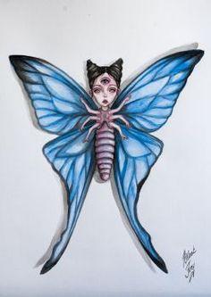butterfly by BlackFurya