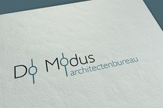 #branding #logo Do Modus Architectenbureau #logoarchitectenbureau