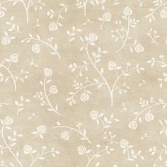 papel de parede arabesco flores brancas contact