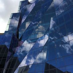 Superlatives escape me #frankgehry #uts #gehry #genius #glass #sky #architecture #windows