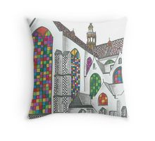 'Stained Glass Windows' by jhnette Stained Glass Windows, Mandala Design, Stuff To Do, Throw Pillows, Illustration, Inspiration, Biblical Inspiration, Toss Pillows, Stained Glass Panels