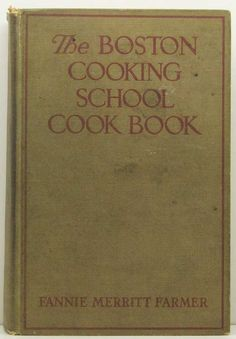 Her first cookbook, it was kept in a kitchen drawer with the Mirro cookbook..