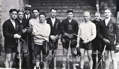 1916 Syracuse University Lacrosse Team