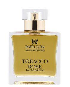 Tobacco Rose Eau de Parfum by Papillon Artisan Perfumes, at Luckyscent. Hard-to-find fragrances, niche brand perfumes,  and other under-the-radar luxuries.
