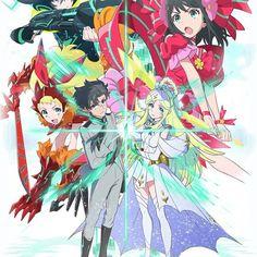 Bushiroad anuncia el TCG y anime de Luck & Logic