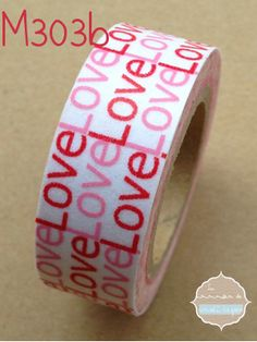 Washi Tape Love Love