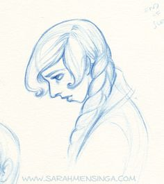 a Sarah Mensinga sketch...i think that's my nose!