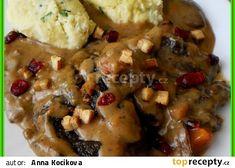 Pikantní kančí krkovička French Toast, Meat, Chicken, Breakfast, Food, Morning Coffee, Essen, Meals, Yemek