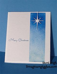 CAS198 Star of Wonder by donidoodle - Cards and Paper Crafts at Splitcoaststampers