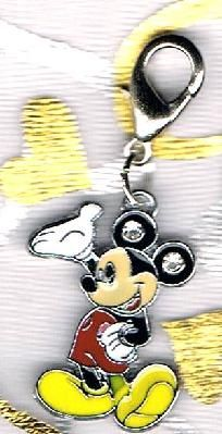 Mickey Mouse Crystal Zipper Pull (FREE SHIP!)