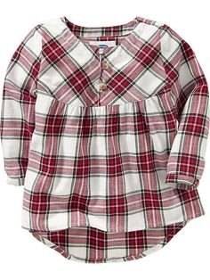 Hi-Lo Plaid Shirts for Baby Product Image