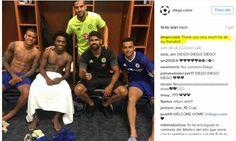 Costa nói lời chia tay với đồng đội ở Chelsea  lich thi dau bong da hom nay http://lichthidau.com.vn