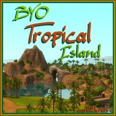 Check out this item from The Sims 3 Exchange! Sims 3 Generations, Sims 3 Worlds, Sims 3 Games, Sims Pets, The Creator, Tropical, Community, Island, Plants
