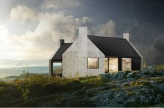 Fantastic norway / Håkon & Haffner | Cabin Harris [When I win the lottery for sure! :) AMAZING!!!!!!!!!!!!!!]