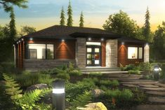 Prefab homes and modular homes in Canada: Bonneville Homes Prefab Homes, Modular Homes, Cabin Plans, House Plans, Contemporary Architecture, Architecture Design, Cottage Design, House Design, Pre Built Homes