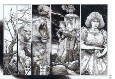 Fracture of the Universal Boy page DPS Mike Zulli Comic Art
