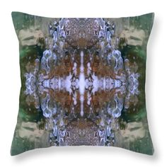 Sea Nymph's Jewels Throw Pillow by Elizabeth Cope May. Multi sizes available at  ElizabethCopeMay.com