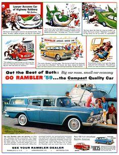 1959 Rambler Cross Country Station Wagon