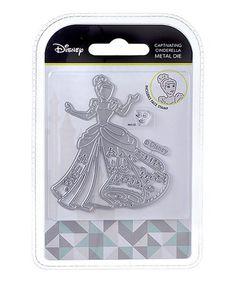 Loving this Disney Princess Captivating Cinderella Die & Face Stamp Set on #zulily! #zulilyfinds