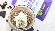 Cold Brew Mocha Frappe with Manitoba Harvest Hemp Protein Hemp Protein, Plant Protein, Smoothie Bowl, Smoothie Recipes, Dairy Free Whipped Cream, Nutritious Smoothies, Frappe, Cold Brew, Yummy Snacks