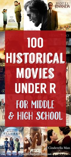 From Schindler's List to Free State of Jones, Hollywood has pushed out some impressive historical dramas. However, these films can be brutal. Here are some great historical movies for junior high and high school.