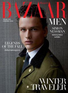 Simon Nessman by Mitchell Nguyen McCormack for Harper's Bazaar Men Thailand