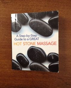 Pocket Size Step by Step Guide to A Great Hot Stone Massage Mini Book | eBay