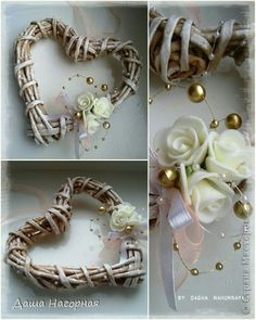 Доброй всем полуночникам ночи!))) Хочу показать вам обещанный мк по плетеной чашке. МК - это громко сказано, наверное, в моем-то случае, т к плетун из меня глубоко начинающий, втянута в это дело лишь с ноября 2013) Не судите строго!) фото 33 Heart Diy, Heart Crafts, Heart Decorations, Paper Decorations, Home Crafts, Diy And Crafts, Rolled Paper Art, Paper Weaving, Newspaper Crafts