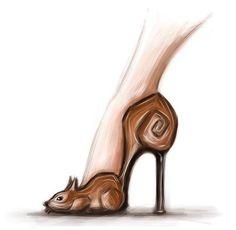 Fashion Illustration Collage, Shoe Sketches, Creative Shoes, Designer Sandals, Fashion Design Sketches, Glitter Shoes, Shoe Art, Crazy Shoes, Fashion Art