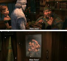 Best insignificant characters in a Disney movie ever.
