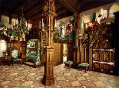 Castillo de Neuschwanstein, habitación principal