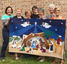 Nativity quilt featured in upcoming St. Martha live auction - Monday, September 28, 2015 - Copyright 2013 Ourtribune.com