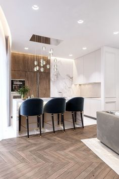 Outstanding modern kitchen room are readily available on our website. Read more and you wont be sorry you did. Kitchen Counter Design, Kitchen Room Design, Modern Kitchen Design, Interior Design Living Room, Kitchen Ideas, Kitchen Decor, Kitchen Cabinets, Kitchen Inspiration, Modern Condo