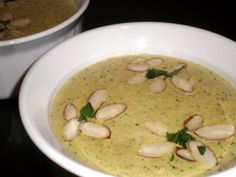 Chicken and Almond Soup    چکن اور بادام سوپ