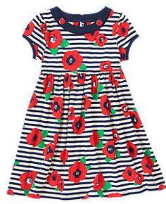 Poppy Stripe Dress
