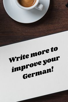 Improve Yourself, German, Language, Writing, Learning, Deutsch, German Language, Studying, Languages