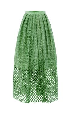 Shop Sonoran Eyelet Skirt by Tibi for Preorder on Moda Operandi
