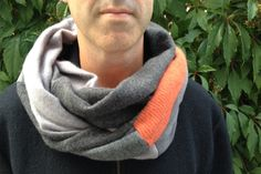 Woollen Infinity Scarf | Felt