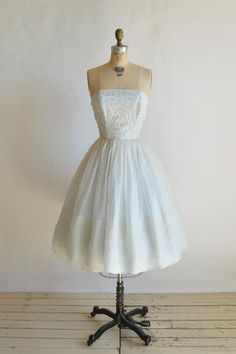 1960s Cotillion Dress