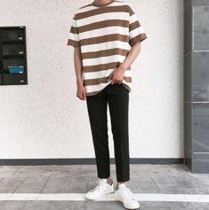 New Crochet Clothes Men Guys 36 Ideas Korean Fashion Men, Ulzzang Fashion, Mens Fashion, Stylish Mens Outfits, Casual Outfits, Fashion Outfits, Moda Indie, Fitz Huxley, Mode Man