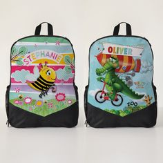 Personalised Kids Backpacks Kindy Bag School Bag Kids Backpacks 81be63593a50b