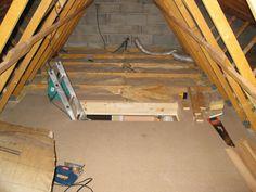 Was aus diesem alten und ungenutzten Dachboden wurde, ist echt erstaunlich.