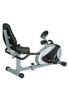 Sunny Health and Fitness Magnetic Recumbent Bike - health & fitness coupon apps Mountain Bike Accessories, Mountain Bike Shoes, Cool Bike Accessories, Best Exercise Bike, Cardio Equipment, Fitness Equipment, Cycling Equipment, Recumbent Bike Workout, Bicycle Maintenance
