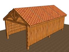 The pole barn is the most simple of all shed designs. It is essentially where posts or poles are fixed into the ground, secured together at the top, which then support a roof. They are typically used on farms, but can be of any size, and...