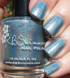The PolishAholic: KBShimmer Spring 2015 Collection Swatches & Review - Blue'd Lines