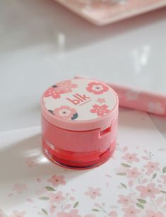 Annyeong to this irresistibly cute compact lip duo of BLK Cosmetics Cherry Blossom Collections, It composes of a lip balm and lip sc. Tinted Lip Balm, Lip Tint, Blk Cosmetics, Korean Products, Kissable Lips, Dry Lips, Lip Moisturizer, K Beauty, Makeup Brands
