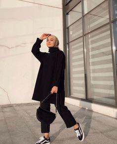 Modest Fashion Hijab, Modern Hijab Fashion, Street Hijab Fashion, Casual Hijab Outfit, Hijab Fashion Inspiration, Hijab Chic, Muslim Fashion, Casual Outfits, Fashion Outfits