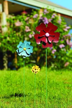 Happy Gardens wind spinners, whirligigs and garden spinners for your outdoor décor. Shop metal wind spinners, copper wind yard spinners and more. Unique Garden Decor, Unique Gardens, Garden Ideas, Garden Wind Spinners, Yard Ornaments, Decorative Bird Houses, Metal Garden Art, Garden Stakes, Yard Art