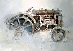 www.johnlovettwatercolorworkshop.com | Brush work | John Lovett - Watercolor Workshop